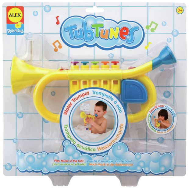 buy alex toys water trumpet at your online shop for baby bath toys and books baby. Black Bedroom Furniture Sets. Home Design Ideas