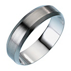more details on Palladium Matt Heavy D-Shape Wedding Ring.