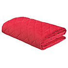 more details on ColourMatch Soft Touch Red Bedspread - 240x135cm.