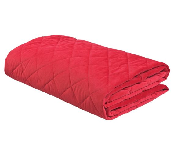 Squishy Mushy Argos : Buy ColourMatch Soft Touch Red Bedspread - 240x135cm at Argos.co.uk - Your Online Shop for ...