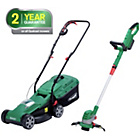more details on Qualcast Cordless 24V Lawnmower and 24V Grass Trimmer.