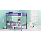 more details on HOME Samuel Shorty Bunk Bed with Elliott Mattress - Silver.