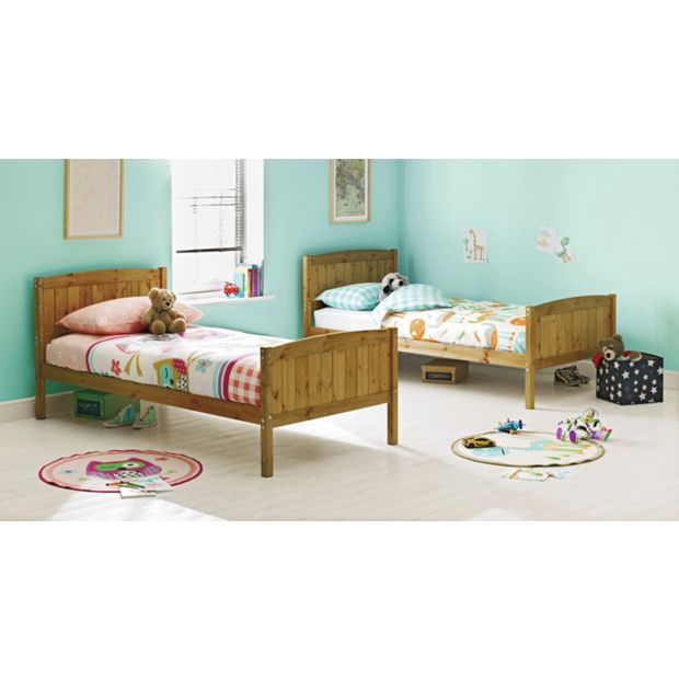 Buy detachable bunk bed with trundle and ashley mattress for Detachable bunk beds