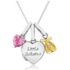 more details on Sterling Silver Little Ballerina Charm Locket Pendant.