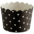 more details on Habitat Mamble Set of 12 Baking Cups Black