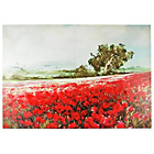more details on Hand Painted Poppy Meadow Canvas.
