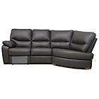 more details on Sorrento Leather Power Recliner Right Corner Sofa Chocolate.