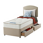 more details on Sealy Revital Tufted Backcare Edge Single 2 Drw Divan Bed.