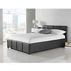 more details on Hygena Hendry Small Double Ottoman Bed - Black.