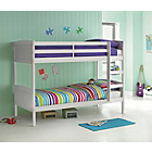 more details on Detachable White Bunk Bed with Ashley Mattress.