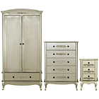 more details on Sophia 3 Piece 2 Door Wardrobe Package - Champagne.