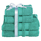 more details on Heart of House Egyptian Cotton Bale - Aqua