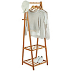more details on Collection Belvoir Bamboo Clothes Rail - Half Size.