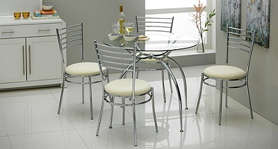 Buy Hygena Lusi Glass Dining Table and 4 Chairs White at  : 4738684RZ001Cfmtpjpgampwid570amphei513 from www.argos.co.uk size 570 x 513 jpeg 65kB