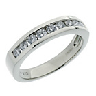 more details on 18ct White Gold 0.50ct tw Diamond Eternity Ring.