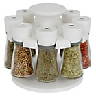 more details on Cole and Mason 8 Jar Revolving Spice Rack - White.