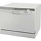 more details on Indesit ICD661 Compact Dishwasher - White/Ins/Del/Rec.