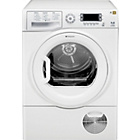 more details on Hotpoint TCUD97B6P Condenser Tumble Dryer - Install/Del/Rec.