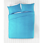 more details on ColourMatch Crystal Blue Bedding Set - Double.