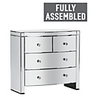 more details on Heart of House Canzano 4 Drawer Mirrored Chest.