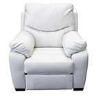more details on Collection Sorrento Leather Power Recliner Chair - Cream.