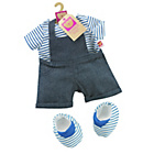 more details on Chad Valley Designabear Dungarees Outfit.