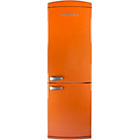 more details on Servis C60185N Retro Frost Free Fridge Freezer - Orange.