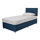 more details on Airsprung Eddy 800 Pocket Divan Bed & Headboard - Teal.