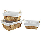 more details on Heart Of House Hyacinth Basket Set of 3.
