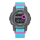 more details on Baby-G by Casio Ladies' G-Lide LCD Digital Strap Watch.
