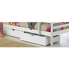 more details on Josie White Bunk Bed with Drawers and Ashley Mattress.