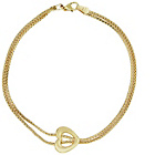 more details on Bracci 9ct Gold Two Strand Heart Popcorn Bracelet.