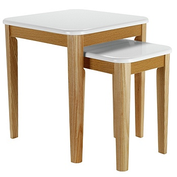 Hygena Skye Nest of 2 Tables