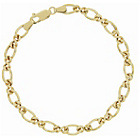more details on Bracci 9ct Gold Infinity Link Bracelet.