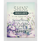 more details on Shine Bright Today Canvas.