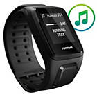 more details on TomTom Spark Fit Music in Black - Large.