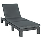 more details on Rattan Effect Daytona Lounger.