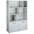 more details on Hygena Hayward 2 Door Shelving Unit - White Gloss.