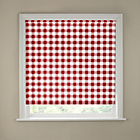 more details on 6ft Red Gingham Kitchen Roller Blind.