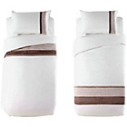more details on Cream and Gold Pintuck Bedding Twin Pack Bedding Set- Single