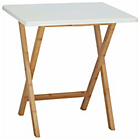more details on Habitat Drew 2 seater white folding dining table