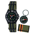 more details on Tikkers Boys' Camouflage Watch, Wallet and Compass Set.