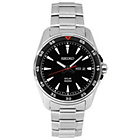 more details on Seiko Men's Black Dial Solar Powered Sports Bracelet Watch.