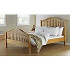 more details on Newbridge Double Bed Frame - Oak Stain.
