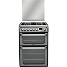 more details on Hotpoint HUD61G Dual Fuel Cooker.