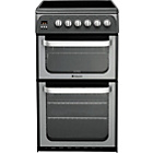 more details on Hotpoint HUE52G Graphite Double Electric Cooker -Del/Recycle