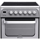 more details on Hotpoint HUE52G Electric Cooker. Graphite- Incl.Install.