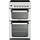 more details on Hotpoint HUE53P Double Electric Cooker.
