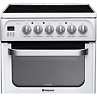 more details on Hotpoint HUE53P Electric Cooker White - Install.