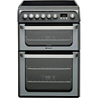 more details on Hotpoint HUE61G Graphite Double Electric Cooker -Del/Recycle